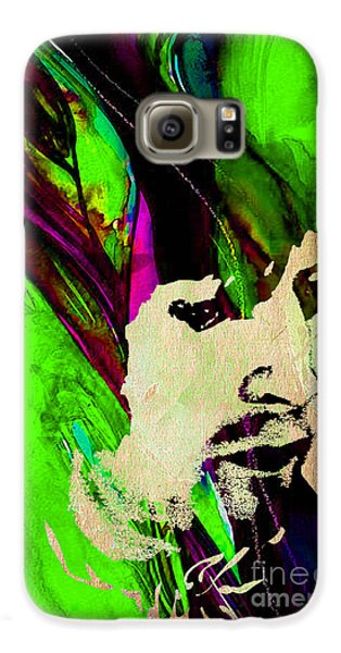 Eric Clapton Collection Galaxy S6 Case by Marvin Blaine
