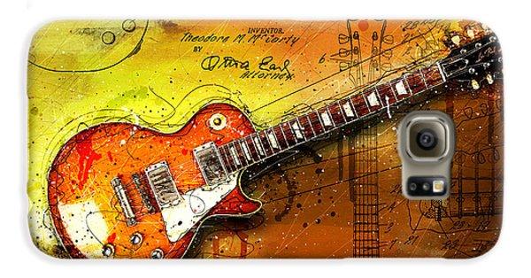 Van Halen Galaxy S6 Case - 55 Sunburst by Gary Bodnar