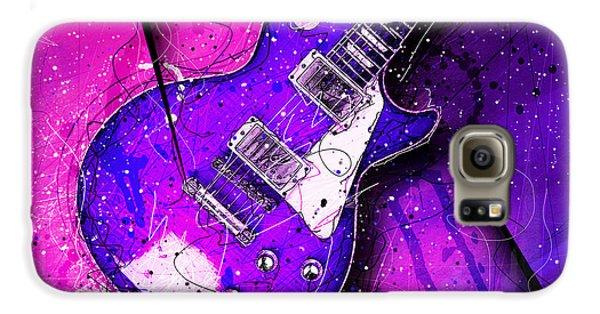 Van Halen Galaxy S6 Case - 59 In Blue by Gary Bodnar