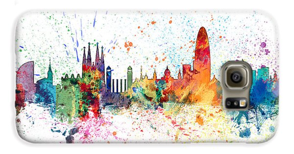 Barcelona Spain Skyline Galaxy S6 Case