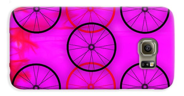 Bicycle Wheel Collection Galaxy S6 Case by Marvin Blaine
