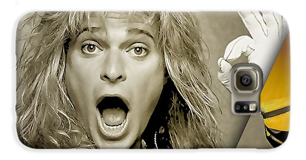 David Lee Roth Collection Galaxy S6 Case by Marvin Blaine