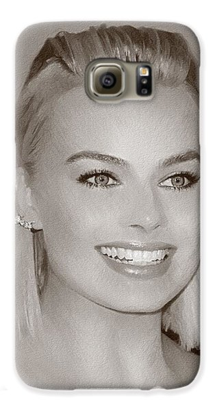 Hollywood Star Margot Robbie Galaxy S6 Case by Best Actors