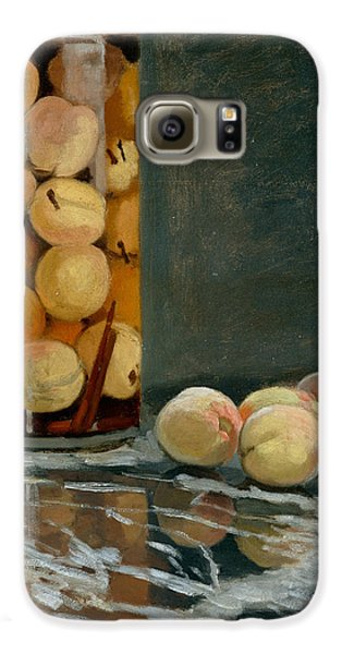 Jar Of Peaches Galaxy S6 Case by Claude Monet
