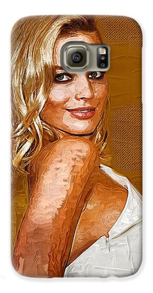 Margot Robbie Art Galaxy S6 Case