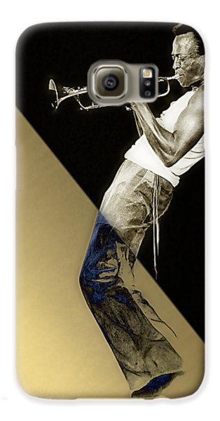 Miles Davis Collection Galaxy S6 Case by Marvin Blaine
