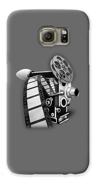 Movie Room Decor Collection Galaxy S6 Case by Marvin Blaine
