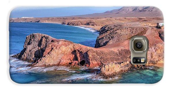 Playa Papagayo - Lanzarote Galaxy S6 Case by Joana Kruse