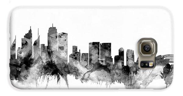 Sydney Australia Skyline Galaxy S6 Case by Michael Tompsett