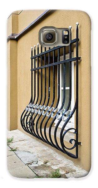 Dungeon Galaxy S6 Case - Window Bars by Tom Gowanlock