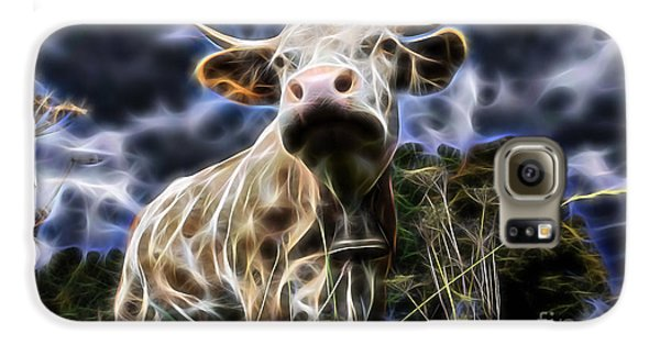 Cow  Galaxy S6 Case by Marvin Blaine