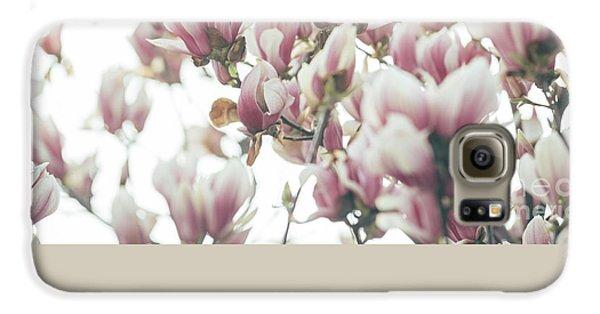 Magnolia Galaxy S6 Case by Jelena Jovanovic