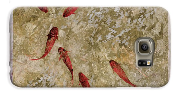 7 Pesci Rossi E Oro Galaxy S6 Case by Guido Borelli