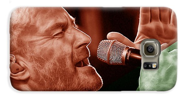 Phil Collins Collection Galaxy S6 Case by Marvin Blaine