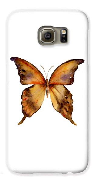 Gorgon Galaxy S6 Case - 7 Yellow Gorgon Butterfly by Amy Kirkpatrick