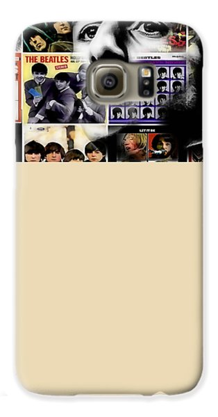 Ringo Starr Collection Galaxy S6 Case by Marvin Blaine