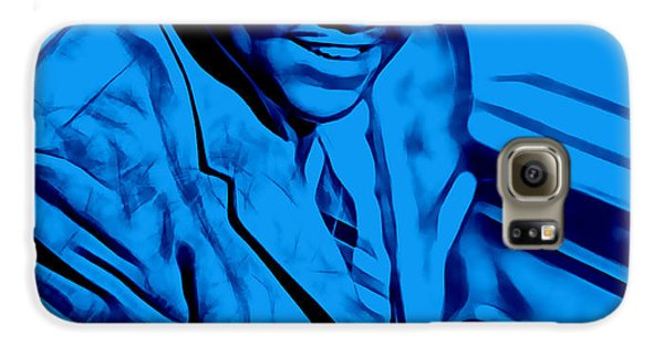Rhythm And Blues Galaxy S6 Case - Fats Domino Collection by Marvin Blaine