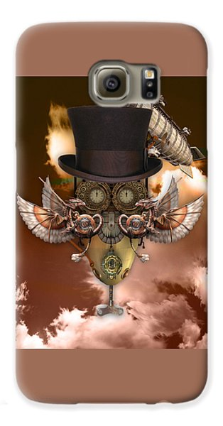 Steampunk Art Galaxy S6 Case