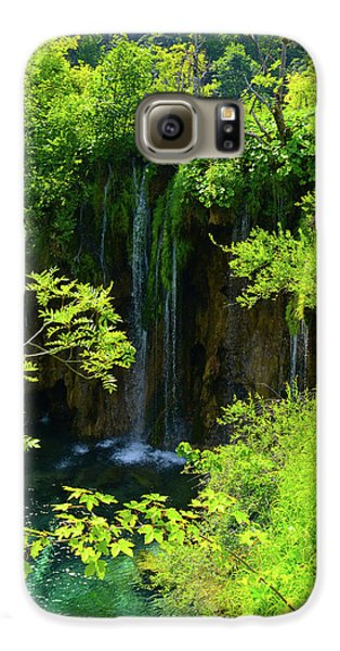 Waterfall In Plitvice National Park In Croatia Galaxy S6 Case