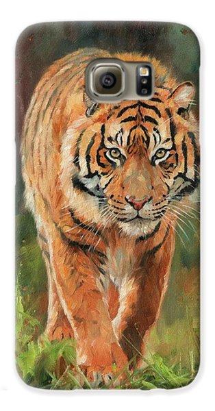 Amur Tiger Galaxy S6 Case by David Stribbling