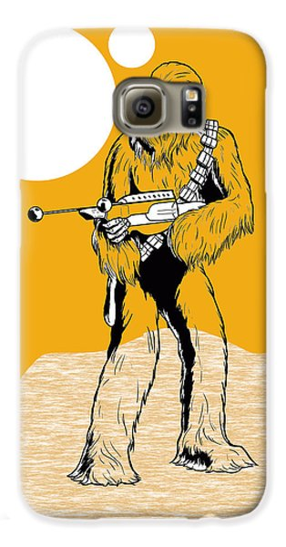 Star Wars Chewbacca Collection Galaxy S6 Case by Marvin Blaine
