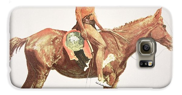 Horse Galaxy S6 Case - A Cheyenne Brave by Frederic Remington