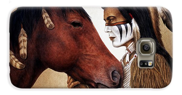 Horse Galaxy S6 Case - A Conversation by Pat Erickson