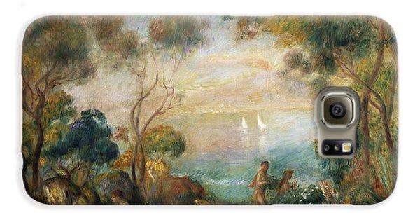 A Garden In Sorrento Galaxy S6 Case by Pierre Auguste Renoir