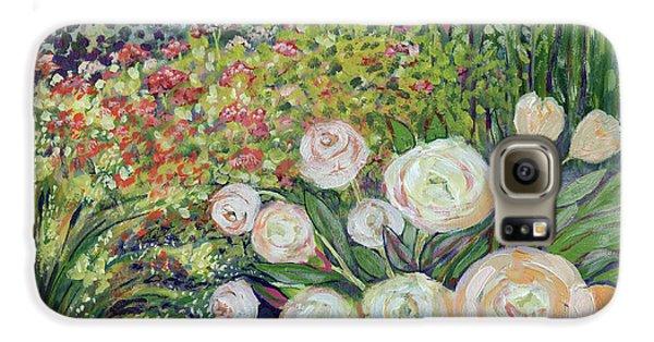Impressionism Galaxy S6 Case - A Garden Romance by Jennifer Lommers