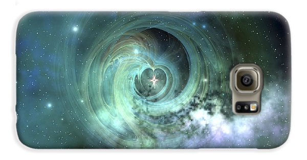 A Gorgeous Nebula In Outer Space Galaxy S6 Case by Corey Ford