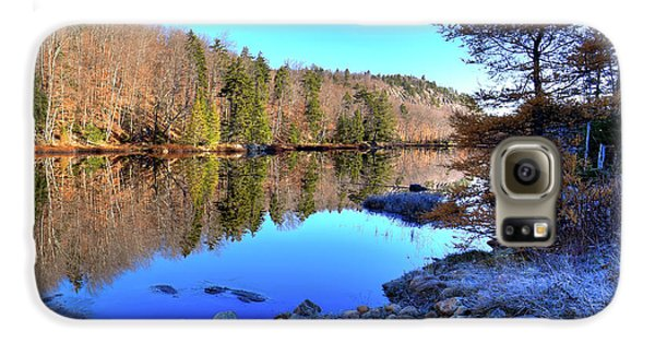 Galaxy S6 Case featuring the photograph A November Morning On The Pond by David Patterson