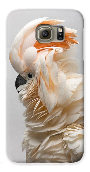 A Salmon-crested Cockatoo Galaxy S6 Case