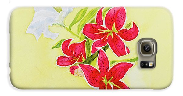 A Study Of Lilies Galaxy S6 Case
