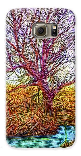 A Tree Greets Springtime Galaxy S6 Case