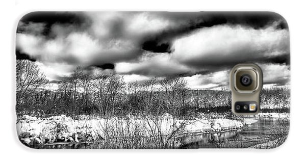 Galaxy S6 Case featuring the photograph A Winter Panorama by David Patterson