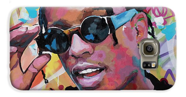 Harlem Galaxy S6 Case - A$ap Rocky by Richard Day