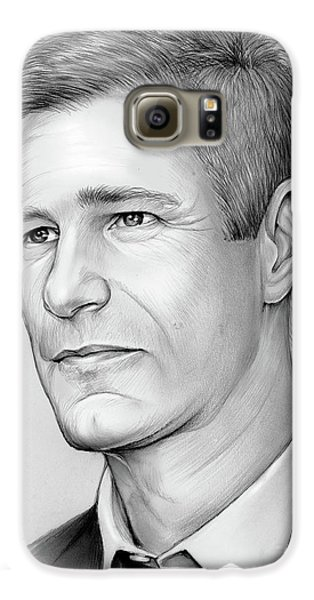 Knight Galaxy S6 Case - Aaron Eckhart by Greg Joens