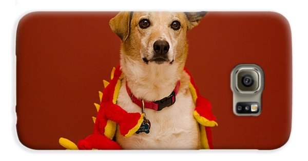 Abbie And Dragon Toy Galaxy S6 Case