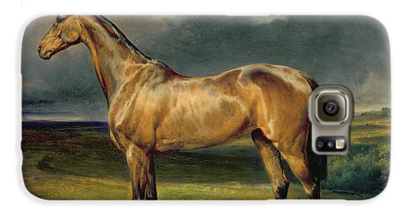 Horse Galaxy S6 Case - Abdul Medschid The Chestnut Arab Horse by Carl Constantin Steffeck