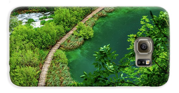 Above The Paths At Plitvice Lakes National Park, Croatia Galaxy S6 Case