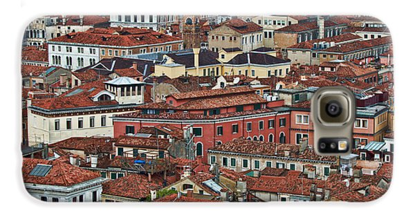 Above Venice Galaxy S6 Case by Kim Wilson