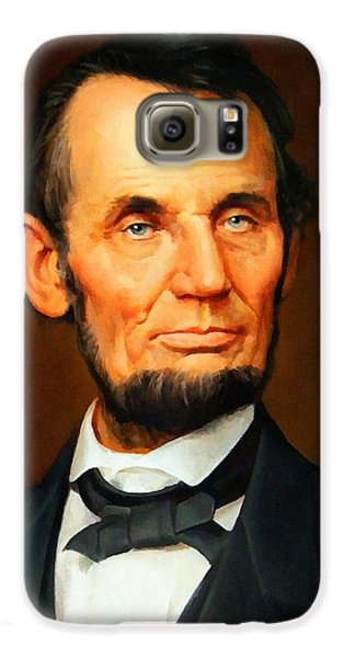 Abraham Lincoln 10 Galaxy S6 Case