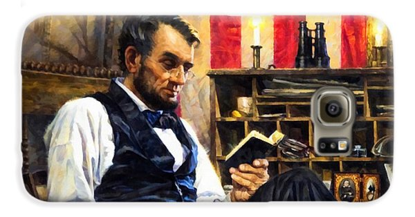 Abraham Lincoln 5 Galaxy S6 Case
