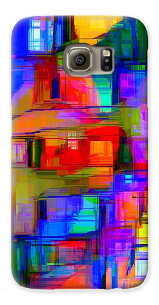 Abstract 1293 Galaxy S6 Case