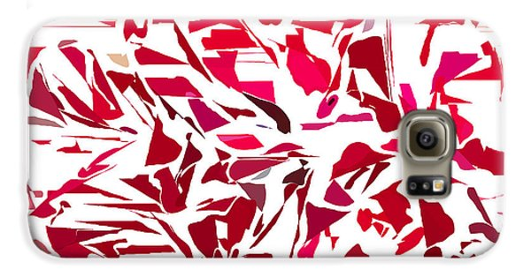 Abstract Geranium Galaxy S6 Case