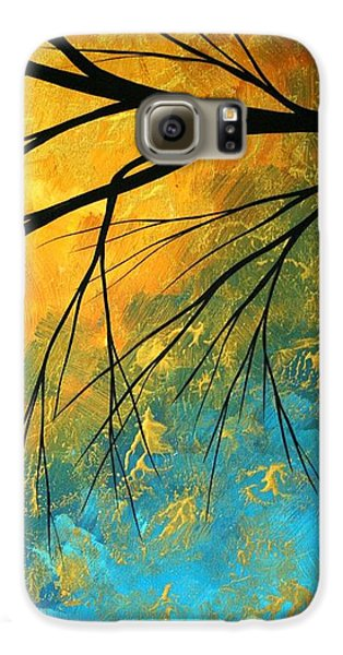 Abstract Landscape Art Passing Beauty 2 Of 5 Galaxy S6 Case