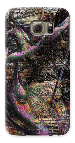 Abstract Sketch 1334 Galaxy S6 Case