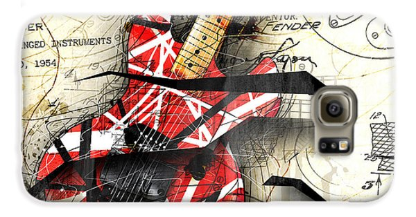Van Halen Galaxy S6 Case - Abstracta 35 Eddie's Guitar by Gary Bodnar