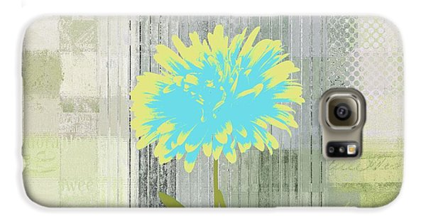 Flowers Galaxy S6 Case - Abstractionnel - 29grfl3c-gr3 by Variance Collections