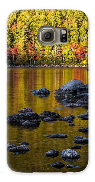 Mountain Sunset Galaxy S6 Case - Acadian Glow by Chad Dutson